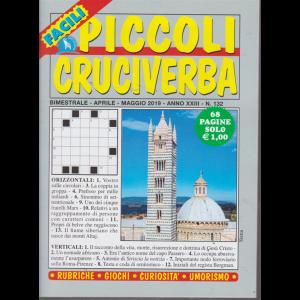 Piccoli Cruciverba  facili - n. 132 - bimestrale - aprile - maggio 2019 - 68 pagine