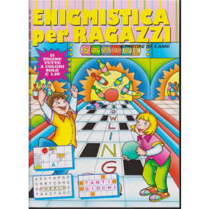 Enigmistica per Ragazzi - bimestrale n.147 Ottobre 2019