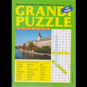 Grandi Puzzle autunno  - n. 84 - trimestrale - novembre - gennaio 2019 - 100 pagine