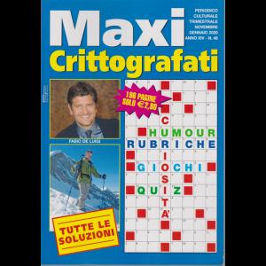 Maxi Crittografati - n. 48 - trimestrale - novembre - gennaio 2020 - 196 pagine
