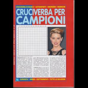Cruciverba Per Campioni - n. 99 - bimestrale - aprile - maggio 2019 -