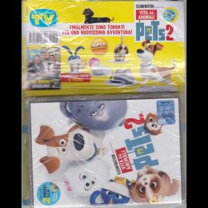 Sorrisi e Canzoni tv + dvd Illumination presenta Vita da animali Pets 2 -