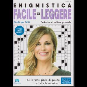 Enigmistica facile da leggere - n. 18 - bimestrale - 28/11/2018