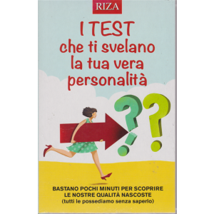 Riza Psicosomatica n. 454 - dicembre 2018 - I test che ti svelano la tua vera personalità