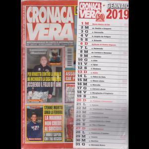 N.Cronaca Vera - Calendario 2019 - n. 2414 - 4 dicembre 2019 - settimanale di fatti e attualità