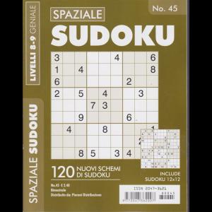 Spaziale Sudoku - n. 45 - bimestrale - livelli 8-9 geniale