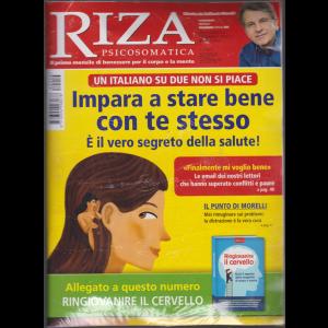 Riza Psicosomatica + il libro Ringiovanire il cervello - n. 454 - mensile - dicembre 2018