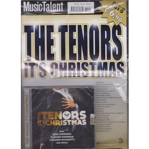 Music Talent - The tenors it's Christmas - rivista + cd -