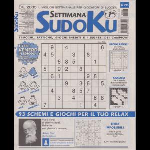 Settimana Sudoku - n. 695 - settimanale - 7 dicembre 2018