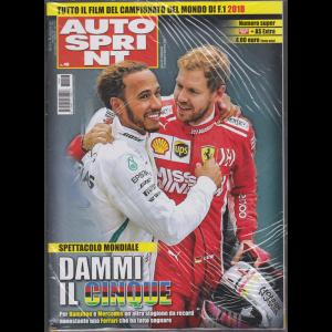 Autosprint - + Autosprint extra - n. 48 - settimanale - 27 novembre - 3 dicembre 2018 - 2 riviste