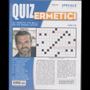 Quiz Ermetici - n. 1 - dicembre 2018 - febbraio 2019 - trimestrale