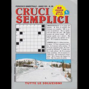 Cruci Semplici - n. 88 - bimestrale - gennaio - febbraio 2019 - 68 pagine