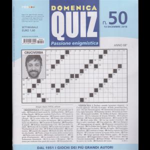 Domenica Quiz - Passione Enigmistica - N.50 - Settimanale