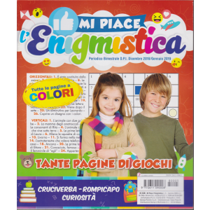 Mi Piace L'enigmistica - n. 5 - bimestrale - dicembre 2018/gennaio 2019
