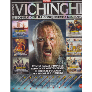 Conoscere la storia - Vichinghi. Il popolo che ha conquistato l'Europa - n. 7 - bimestrale - dic/gen 2019 -