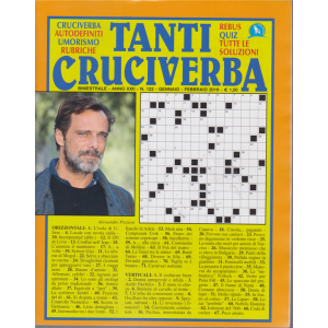 Tanti Cruciverba - n. 122 - bimestrale - gennaio - febbraio 2019