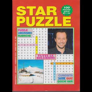 Star Puzzle - n. 299 - bimestrale - gennaio - febbraio 2019 - 100 pagine