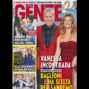 Gente - n. 50 - 15/12/2018 - settimanale -