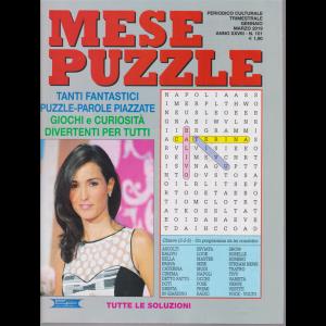 Mese puzzle - n. 101 - trimestrale - gennaio - marzo 2019 -