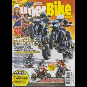Super Bike - n. 12 - mensile - dicembre 2018 - rivista + calendario 2019