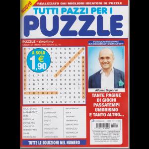 Tutti pazzi per i puzzle - n. 4 - bimestrale - dicembre 2018/gennaio 2019 -
