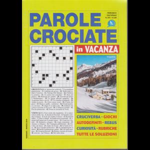 Parole crociate in vacanza - n. 275 - gennaio - marzo 2019 -