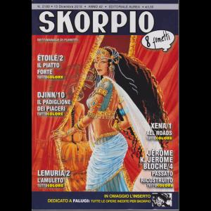 Skorpio - n. 2180 - 13 dicembre 2018 - settimanale di fumetti