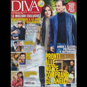 Diva e donna - n. 50 - 18 dicembre 2018 - settimanale femminile