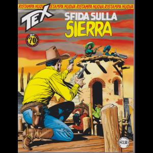 Tex Nuova Ristampa - Sfida Sulla Sierra - n. 440 - mensile - dicembre 2018
