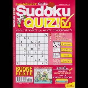 Sudoku Quiz - n. 18 - mensile - 14/12/2018