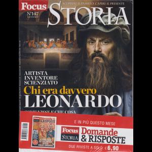 Focus Storia Speciale + Domande & Risposte - n. 147 - gennaio 2019 - mensile - 2 riviste