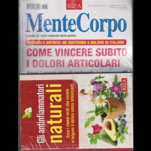 Mente Corpo + il libro Gli antinfiammatori naturali - n. 137 - gennaio - febbraio 2019 - bimestrale -