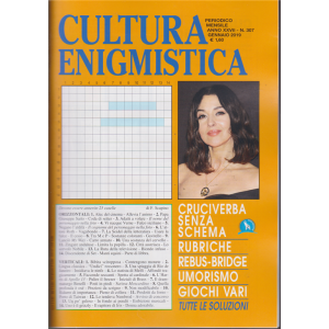 Cultura Enigmistica - n. 307 - mensile - gennaio 2019