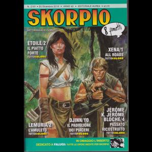 Skorpio - n. 2181 - 20 dicembre 2018 - settimanale di fumetti