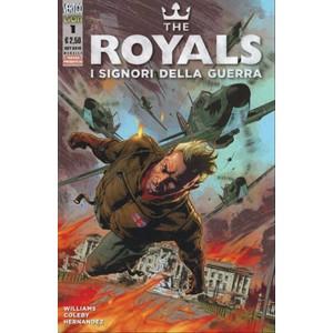 VERTIGO PRESENTA 32 – THE ROYALS – I SIGNORI DELLA GUERRA 01-DC Comics Lion