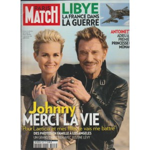 PARIS MATCH n.3227 du 24 au 30 mars 2011