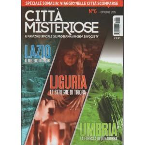 Citta' Misteriose - Mensile n.6 Ottobre 2015