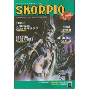 Skorpio - settimanale di fumetti n. 43 - 29 Ottobre 2015 - Editoriale AureA