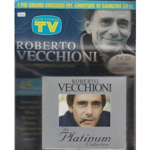 ROBERTO VECCHIONI THE PLATINUM COLLECTION. I PIU' GRANDI SUCCESSI DEL VINCITORE DI SANREMO 2011