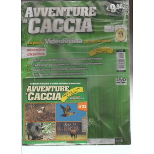 AVVENTURE DI CACCIA - video rivista di caccia n.25 Novembre Dicembre 2015