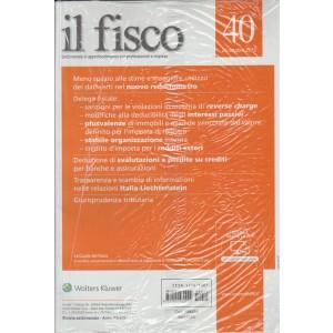 IL FISCO- Settimanale  n.40 - 26 Ottobre 2015