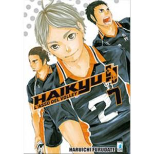 Manga HAIKYU!! n. 7 - Star Comics - Collana Target n.54