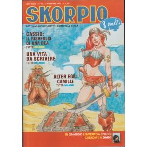 Skorpio settimanale di fumetti n. 44 - 5 Novembre 2015 - Editoriale Aurea