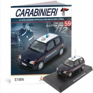 Carabinieri Fiat 600 Electra 2003