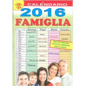 Calendario 2016 in famiglia  - cm. 26  x 46