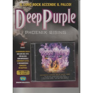 CD + DVD DEEP PURPLE - phoenix rising by Sorrisi e canzoni TV