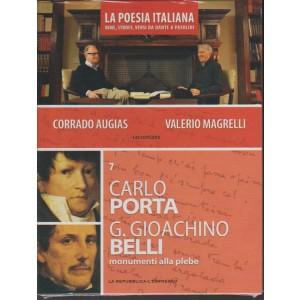 DVD n. 7 La Poesia Italiana - Carlo Porta  & G.Gioacchino Belli