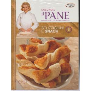 Accademia Del Pane di Sara Papa - Stuzzichini e Snack n.6 - DVD + Libro