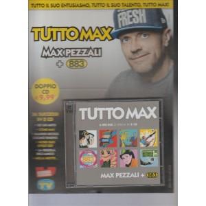 Doppio CD TUTTO MAX - Max Pezzali + 883 Iniziativa Sorrisi e canzoni TV