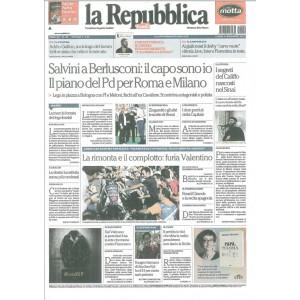 La REPUBBLICA - quotidiano di Lunedì 9 Novembre 2015